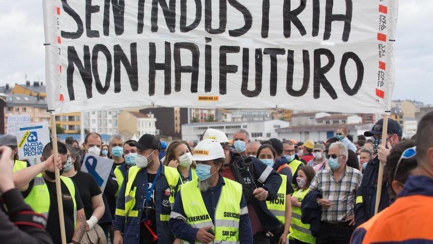 """La plantilla de Alcoa confía en """"que los políticos cumplan su palabra"""""""