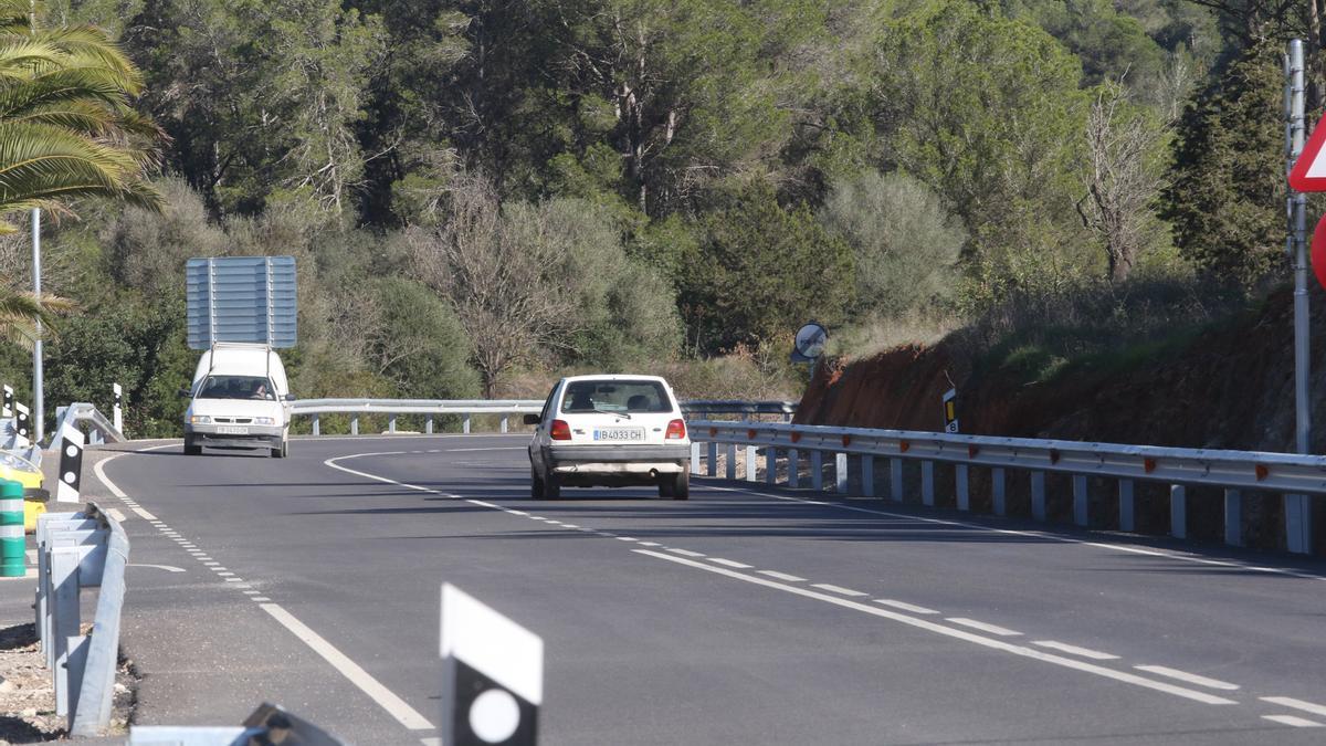 Carretera de Sant Joan, en una imagen de archivo.