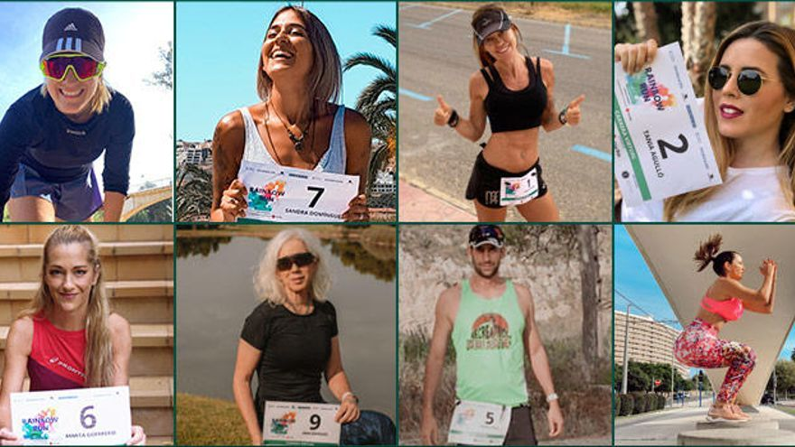¿Conoces a los influencers que participaron en la Rainbow Run Alicante?