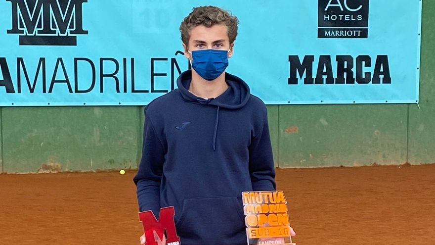 Rafael Segado Esteve, campeón del Mutua Madrid Open en Zaragoza