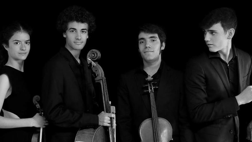 L'Espai Plana de l'Om acollirà un matí ple de música amb el quartet de corda Atenea