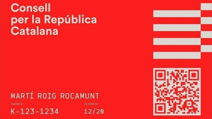 Puigdemont impulsa un «DNI català» de pagament que no permet tràmits amb la Generalitat