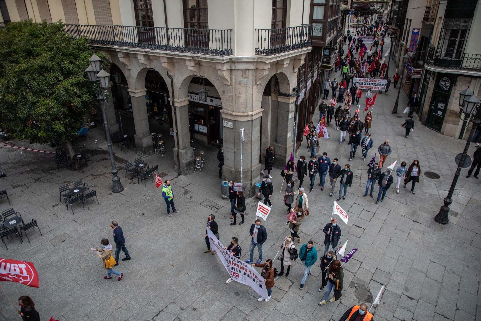 Manifestación por el día del trabajador
