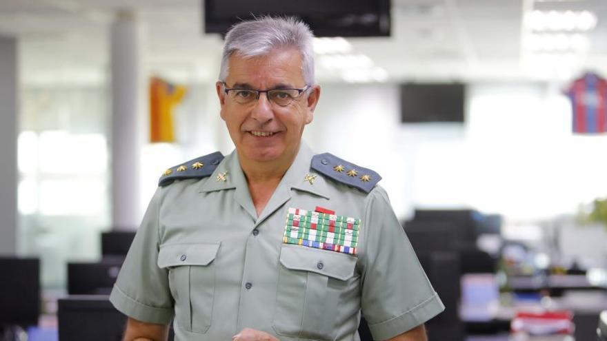 La Audiencia Nacional avala el cese del coronel Sánchez Corbí al frente de la UCO