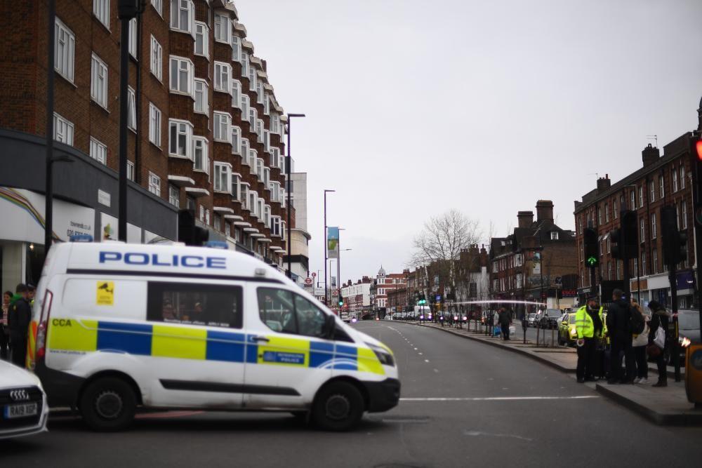 Acció terrorista al barri de Streatham, a Londres
