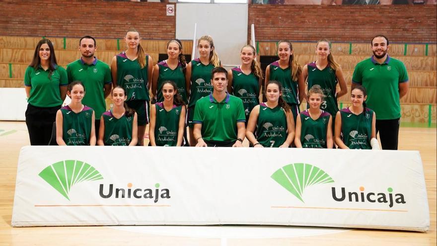 Derrota del Unicaja femenino en el inicio del Campeonato de España Infantil