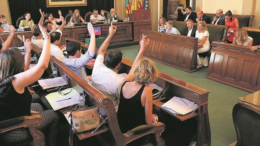 El tablero de Castellón cara a las elecciones del 2019