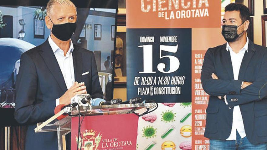La XVII Feria de la Ciencia de La Orotava tendrá una alternativa virtual