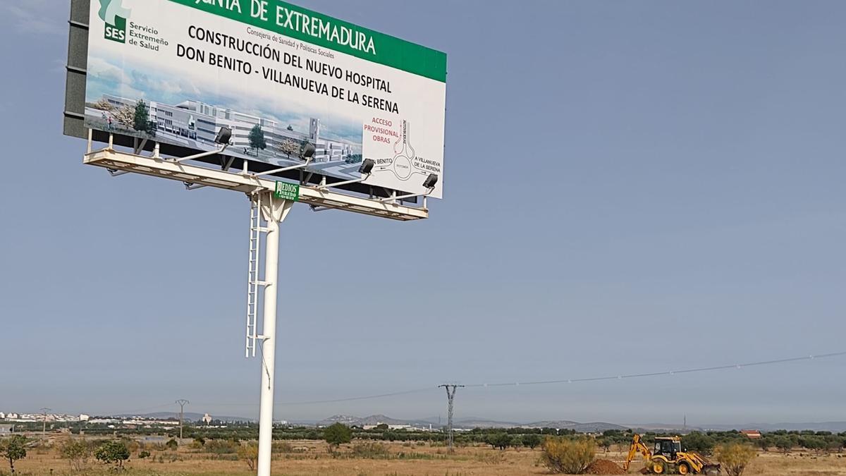 Se inician las obras del nuevo hospital Don Benito-Villanueva