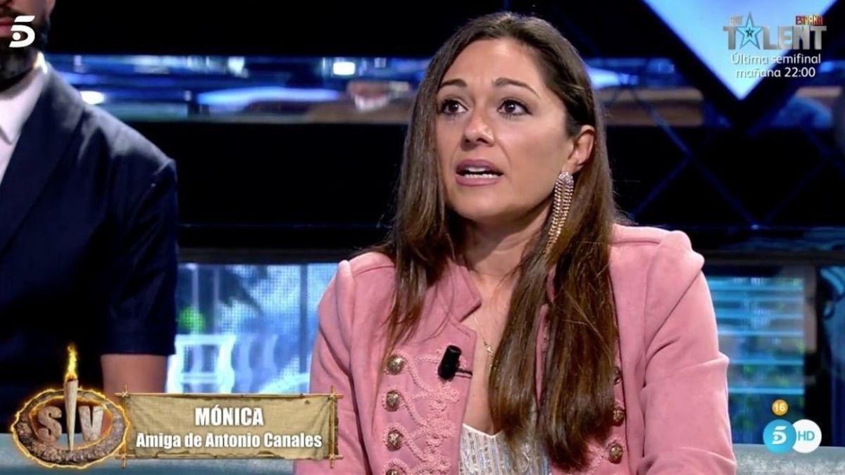 Mónica, la defensora de Antonio Canales.