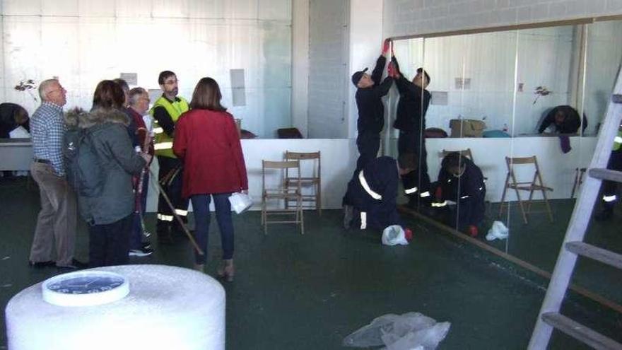La asociación vecinal de Maianca suspende sus actividades tras quedarse sin su local
