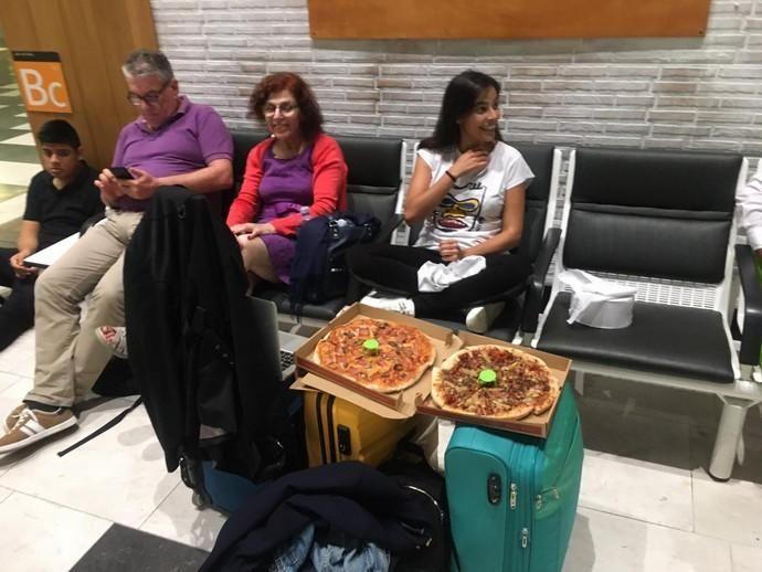 Atrapados en el aeropuerto de El Prat