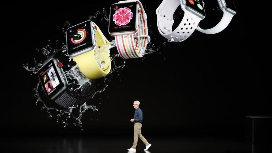 El nuevo Apple Watch, un reloj con electrocardiograma