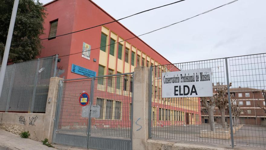 El presupuesto de Elda incluirá fondos para reconvertir el antiguo Conservatorio en un centro cultural