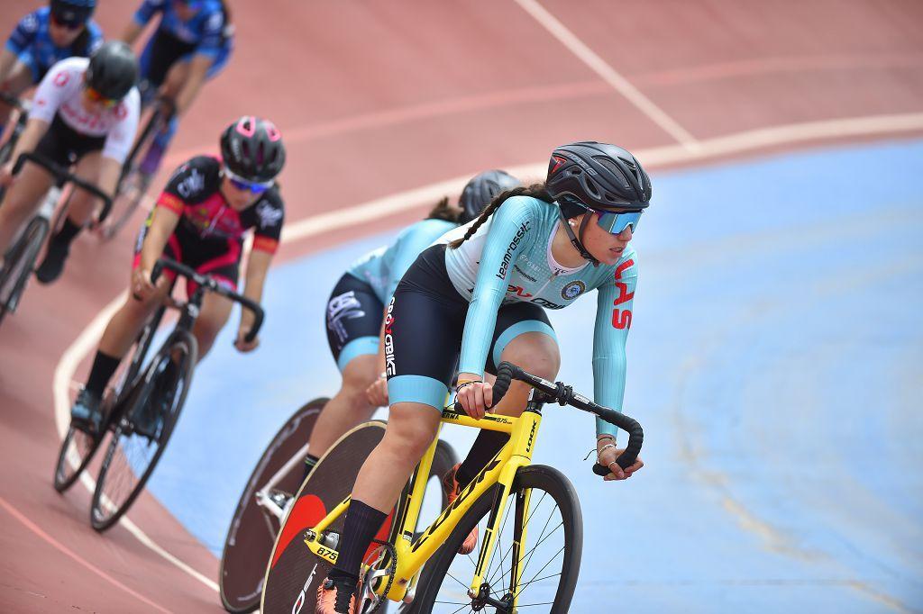 Competición de velocidad de ciclismo en Torre Pacheco