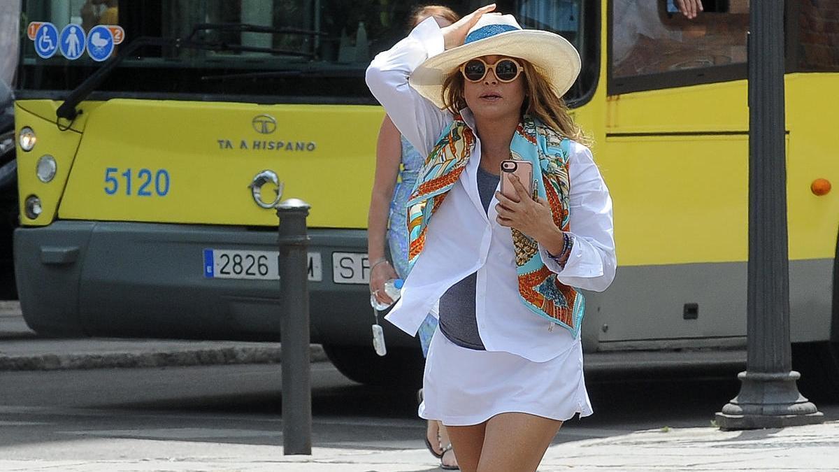 Una imagen de archivo de la cantante mexicana, Paulina Rubio.
