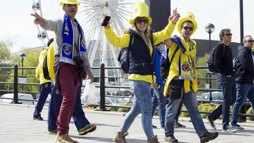 Todos los aficionados inscritos viajarán con el Villarreal a la final de Polonia