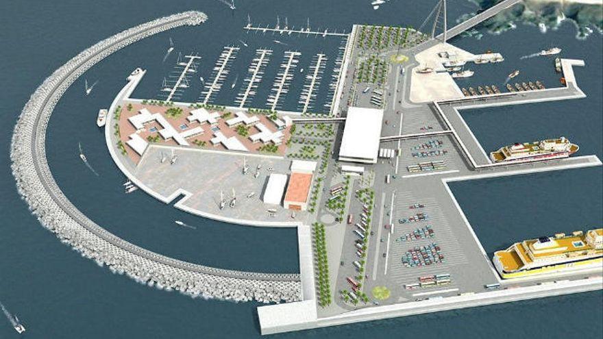 Carpetazo al puerto de Fonsalía con el voto dividido del 'pacto de las flores'