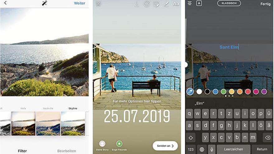 Instagram für Mallorca-Liebhaber: so geht's