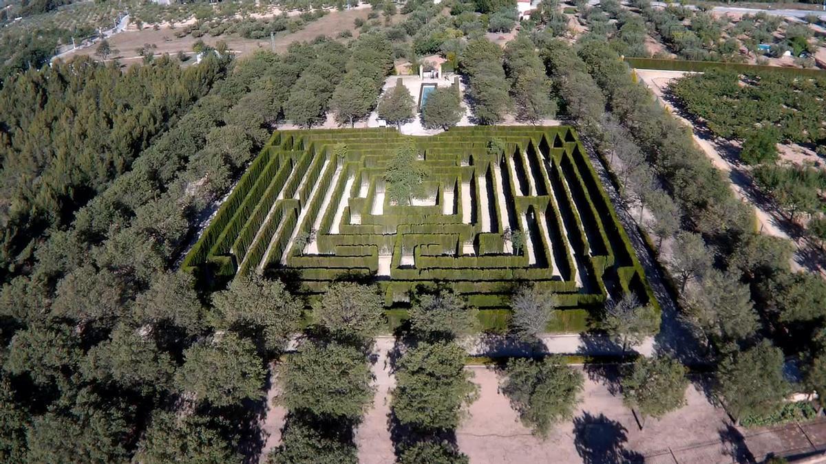 El Laberinto de Casa Tápena, en el municipio de Onil ALICANTE NATURA