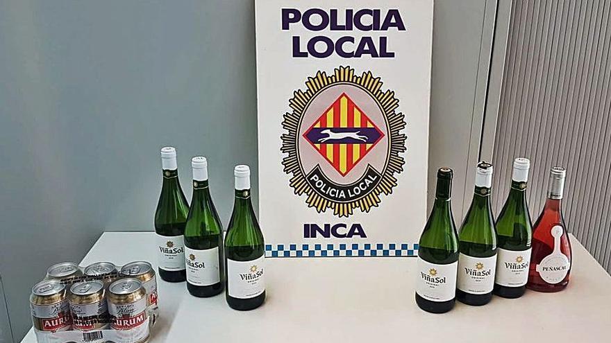 Agrede a la encargada de un supermercado en Inca para robar vino y cerveza