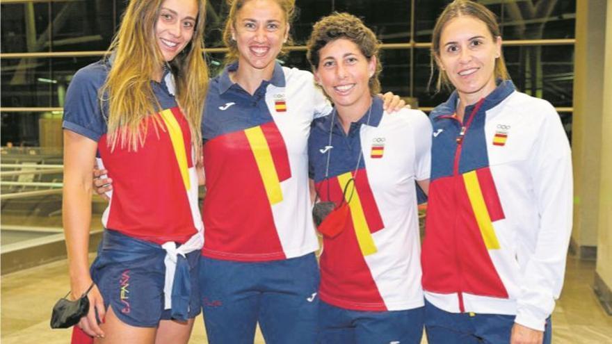 Carla ya ganó su medalla de oro