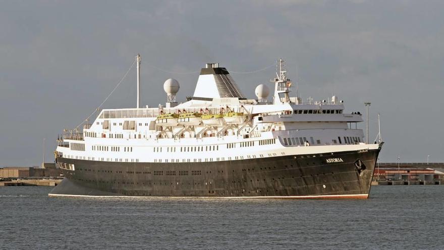 El barco que hundió el 'Andrea Doria', en Palma