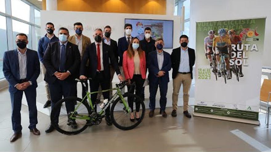 La Vuelta Ciclista Andalucía arrancará en Mijas el 18 de mayo