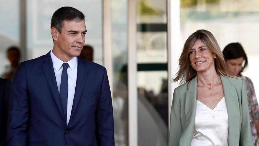 """Pedro Sánchez revela que su mujer ya está """"recuperada"""""""