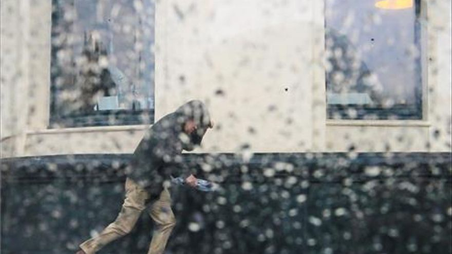 Alerta por lluvias de hasta 20 litros en una hora en Castellón