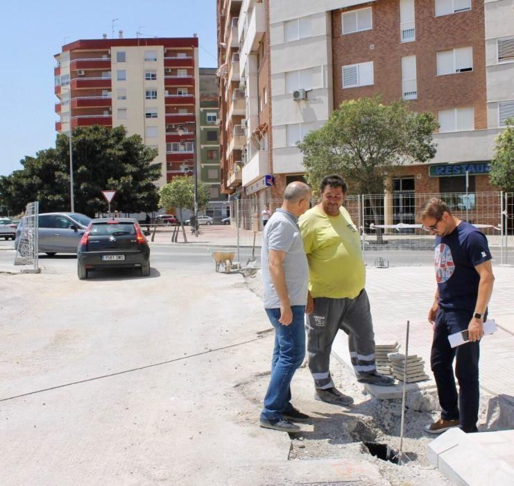 Obras en Silla.