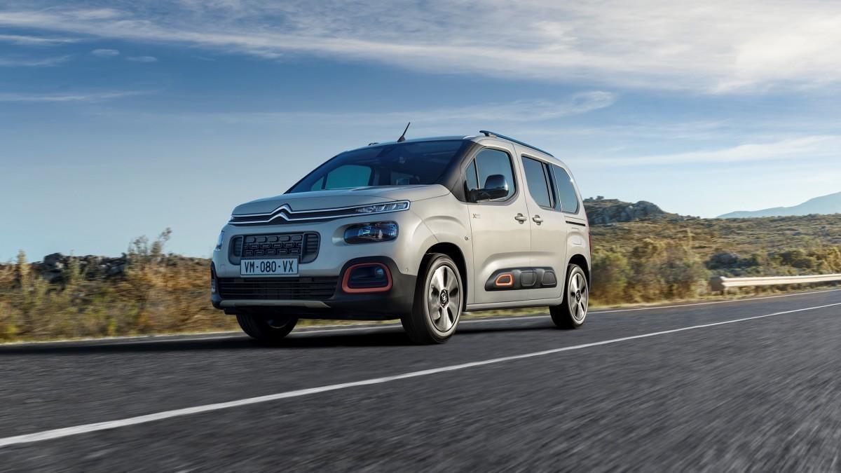 Citroën renueva la gama del Berlingo con cuatro acabados que apuestan por la seguridad