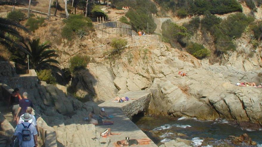 Lloret de Mar compra part dels terrenys del camí de ronda entre les platges de Fenals i la de Lloret