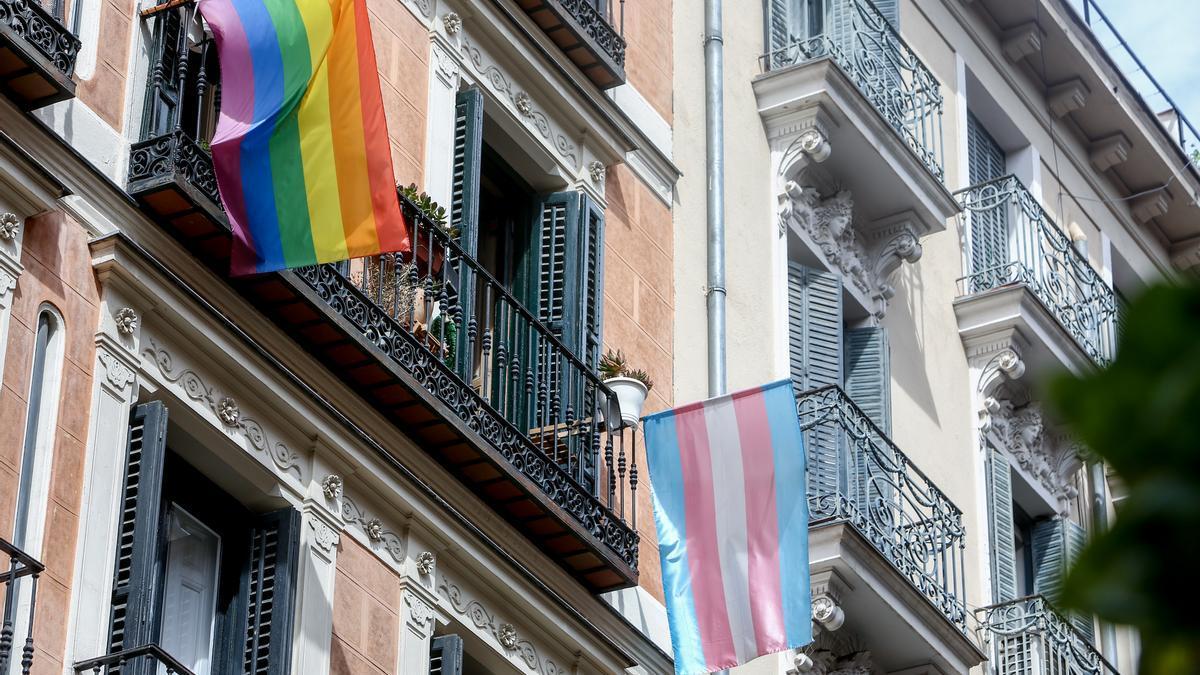 Una calle del barrio de Malasaña, donde el día 5 de septiembre un joven sufrió una supuesta agresión homófoba