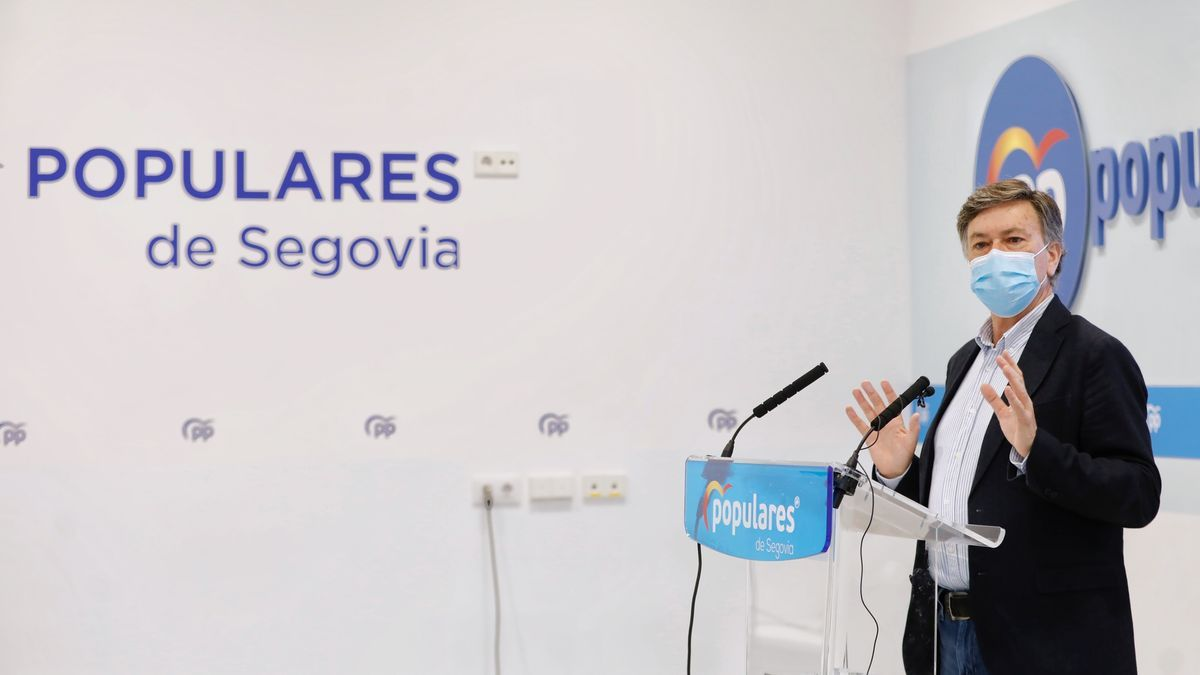 El secretario autonómico del PP,  Francisco Vázquez.