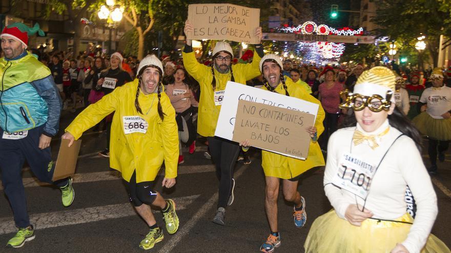 """Alicante acoge durante el fin de semana la """"San Silvestre"""" más solidaria"""