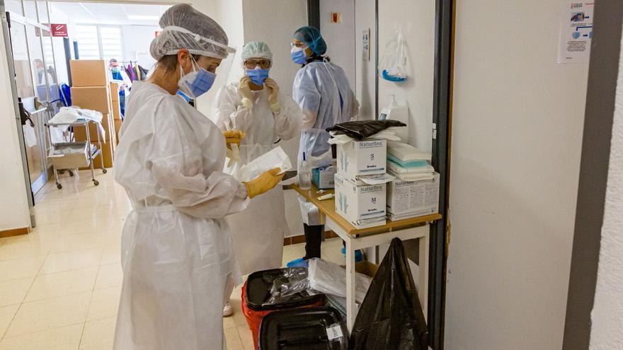 La incidencia de contagios de covid se dispara de forma alarmante en el Alto y Medio Vinalopó