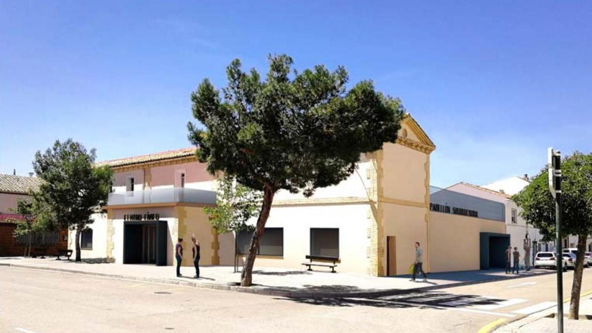 Centro de mayores de San Juan de Mozarrifar.