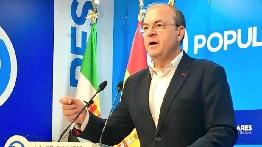 Monago anuncia que el PP abandona el Pacto por el Ferrocarril de Extremadura