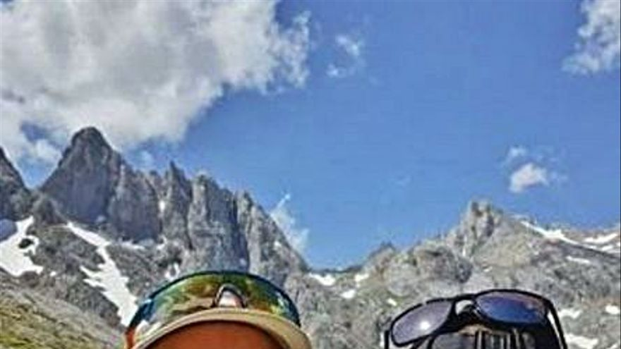 Javi Fuego y Mario Cotelo, de ruta en Picos de Europa