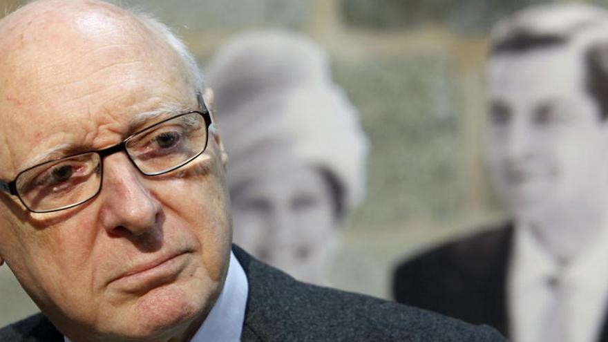 Mor José Pedro Pérez-Llorca, un dels pares de la Constitució