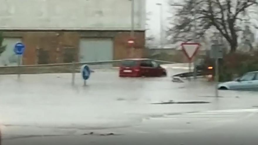 Inundaciones en Requena por la DANA