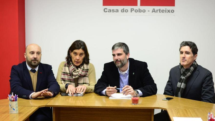 Terra Galega de Arteixo se integra en el PSOE
