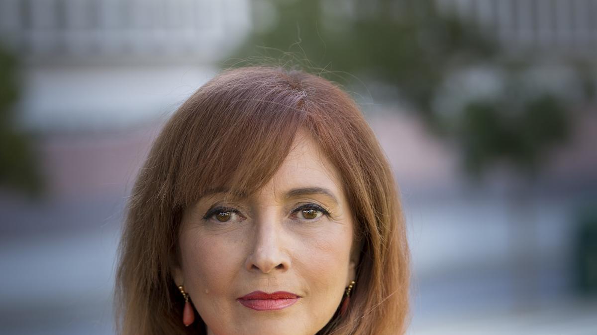 María Dolores López Marfil, candidata a decano del Colegio de Abogados de Málaga.