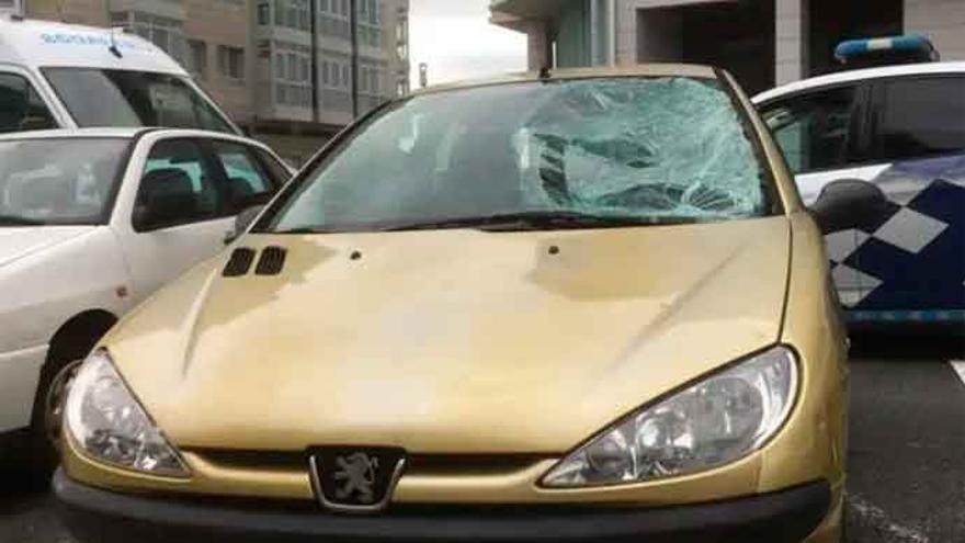 Identificado el conductor que se dio a la fuga tras un atropello en la ronda de Outeiro