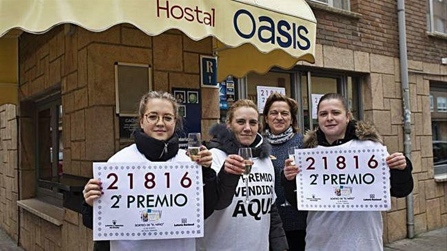 El segundo premio de la Lotería del Niño cae en Zamora | La suerte sonríe a Los Bloques