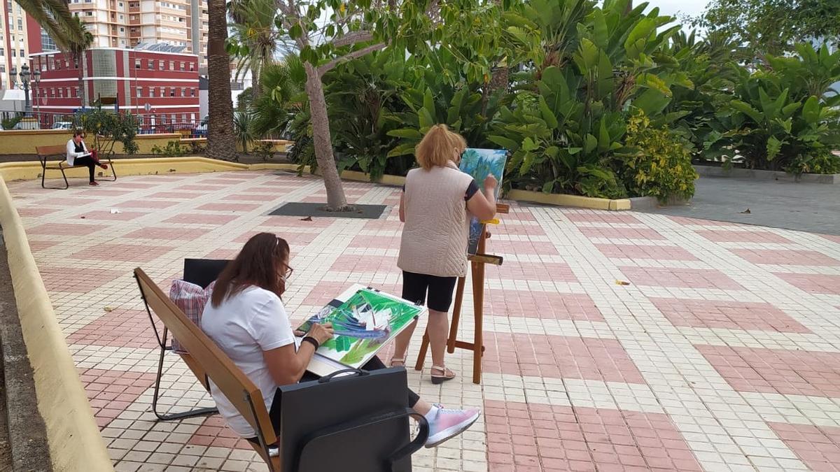 Ciudad Alta continúa ampliando la oferta de actividades gratuitas al aire libre con clases de pintura y dibujo
