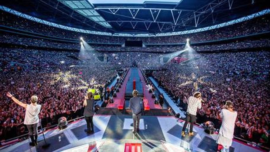 One direction: Where we are. La película del concierto