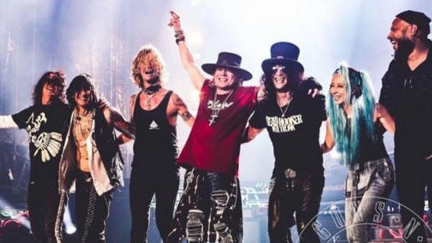 Guns N'Roses actuará en Madrid y Bilbao en 2017