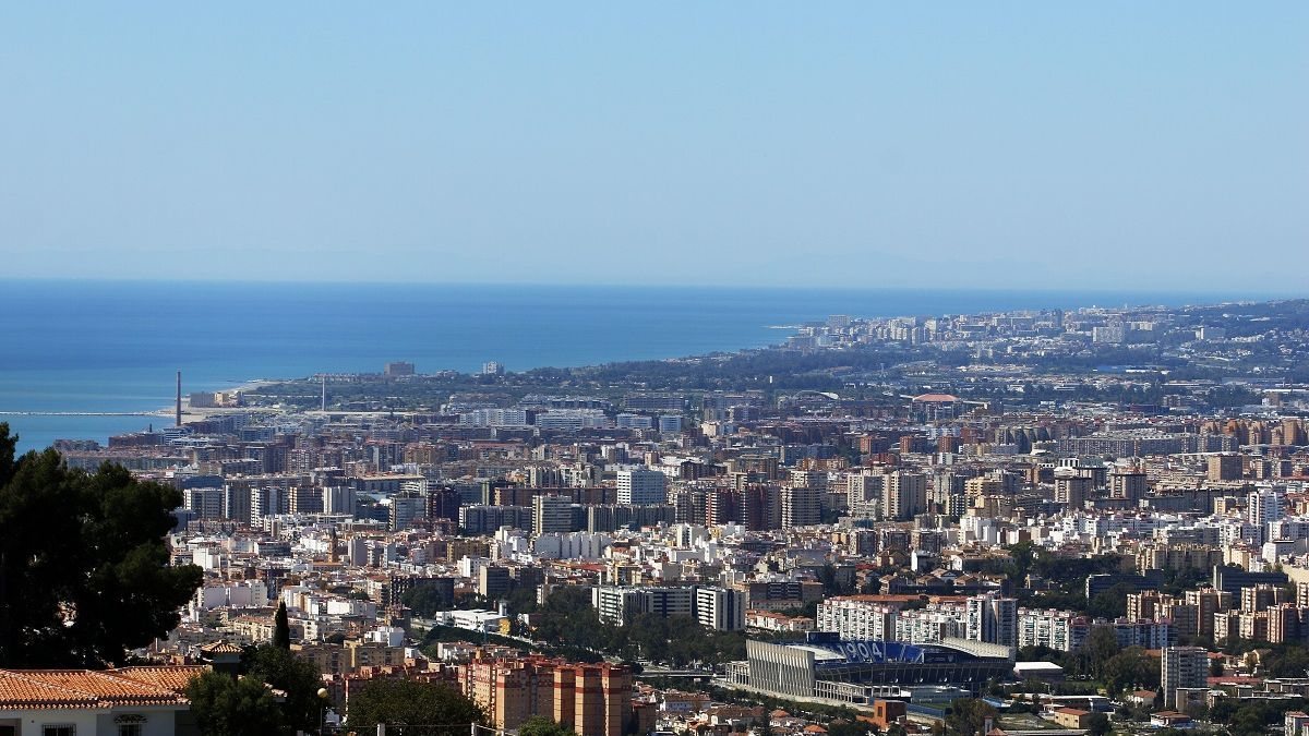 Una vista de Málaga.